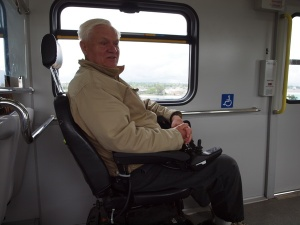 wheelchair, transit