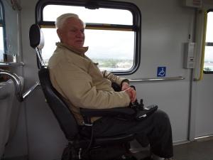 wheelchair, transit