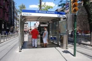LRT kiosk