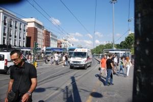 LRT and ambulance