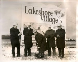 Lakeshore Sod Turning