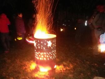 Bonfire at the Lantern Walk