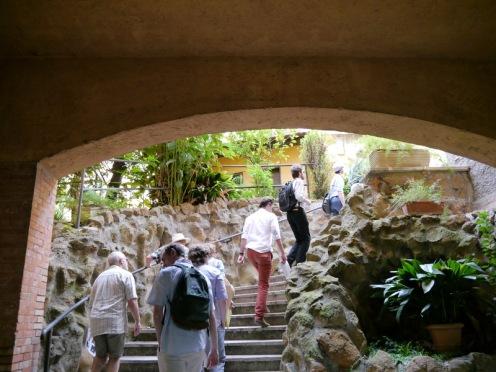 Entrance to garden