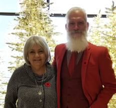 laurie and fashion Santa